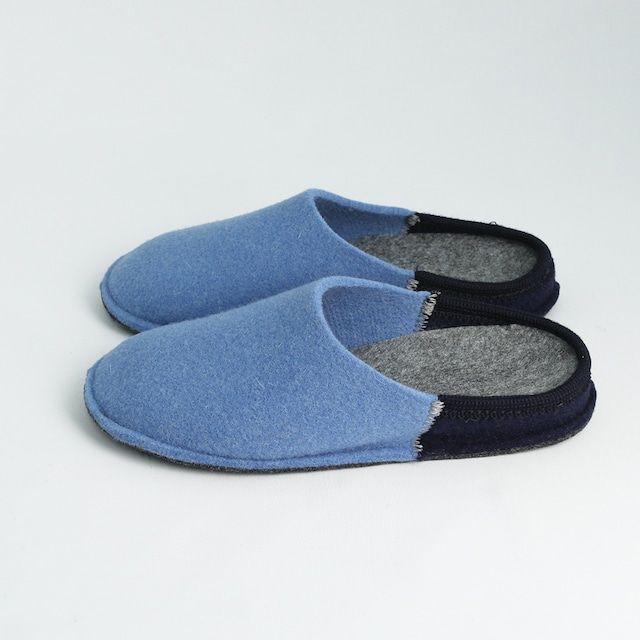 NUVOLA BICO ルームシューズ Blue / navy[ Le Clare ]