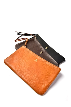 Leather pouch (L)