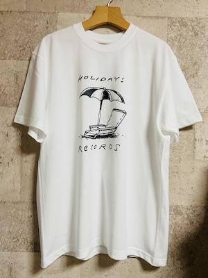 パラソルロゴTシャツ(白)
