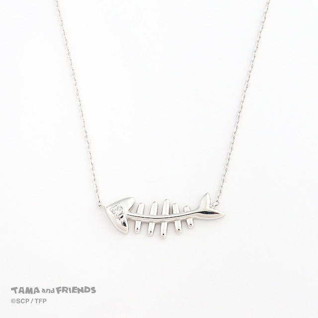 Tama and Friends fishbone necklace