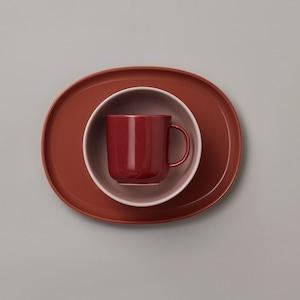 NUPPU(ヌップ) JUNIOR Tableware set (テーブルセット) Lingon berry (リンゴンベリー)