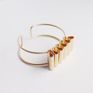 BRACELET    【通常商品】 NAMI NAMI BANGLE (GOLD)    1 BRACELET    GOLD    FBA082