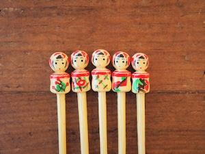 こけしピック 杜の都の竹工房