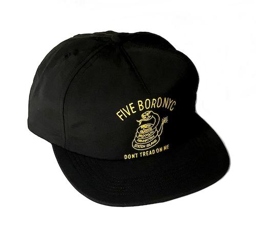 5BORONYC Don't Tread Hat Black