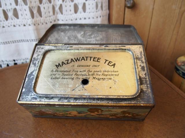 イギリスアンティーク MAZAWATTEE TEA