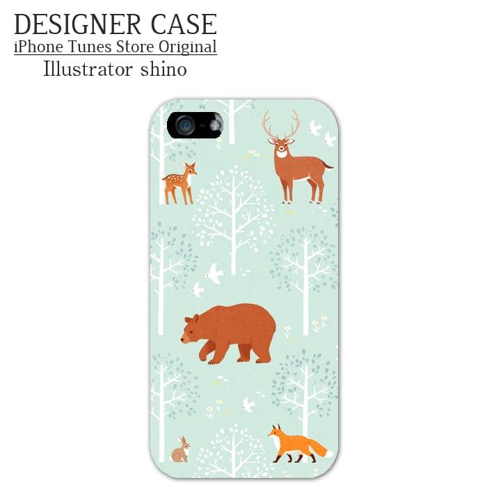 iPhone6 Plus Hard Case[Mori no doubutsu] Illustrator:shino
