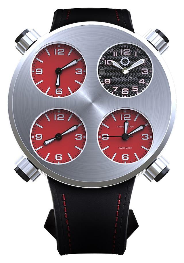 【MECCANICHE VELOCI メカニケ・ヴェローチ】ICON Rosso アイコン ロッソ/国内正規品 腕時計