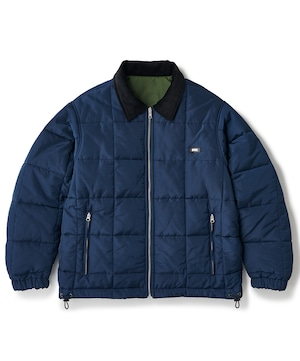 FTC / REVERSIBLE PUFFY JACKET -NAVY-