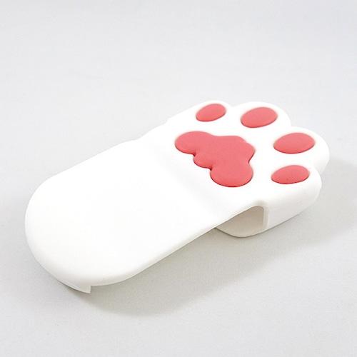 ネコの肉球 鍋つかみ(白猫)(F-020W)