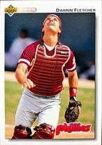 MLBカード 92UPPERDECK Darrin Fletcher #108 PHILLIES