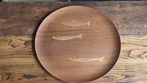 Teak Plywood Tray by Aomine Shigemichi 青峰重倫 '60