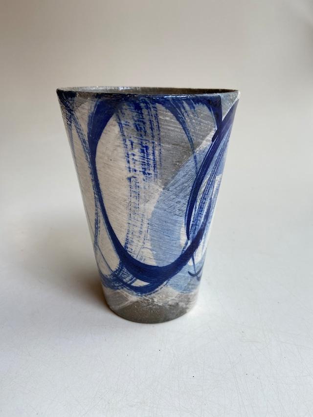 ウォーターカップ青柄