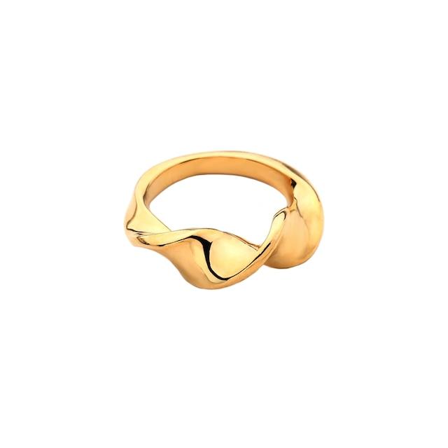 Twist curve ring|リング
