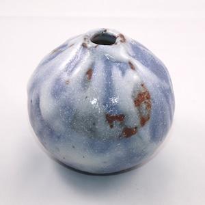 青志野 小壺  Blue Shino Small Vase