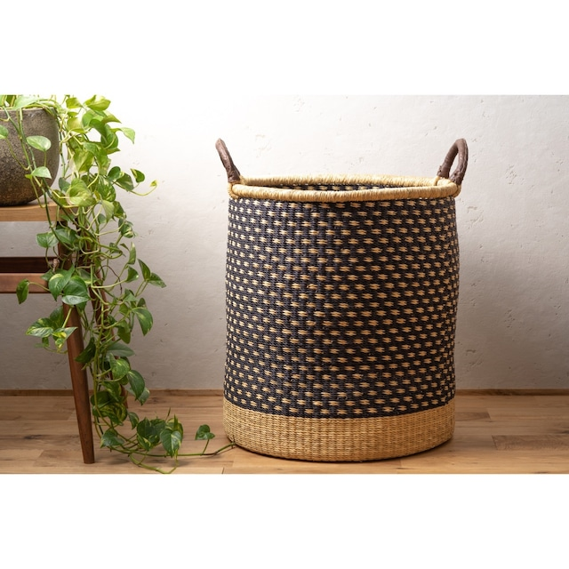 African Laundry Basket <Large>