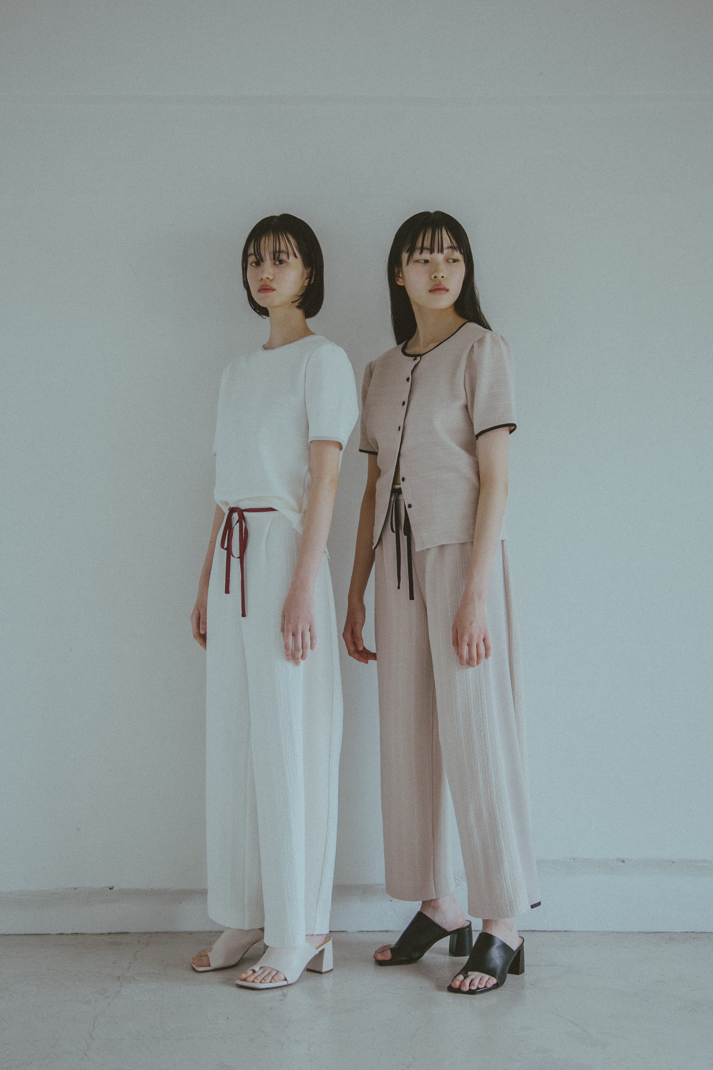 【受注】StSr YUKI SHIMANE side line sewat pants