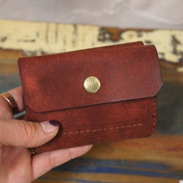 SARANAM(サラナン) NEWコンパクト3つ折り財布 RENGA