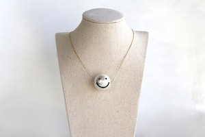14kgf Cotton PearlSmile necklace