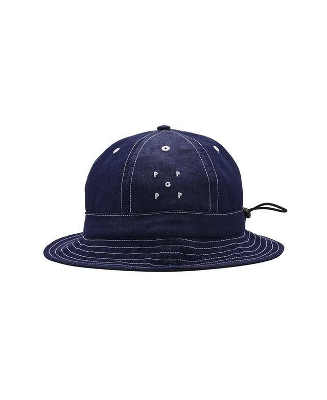 POP TRADING COMPANY BELL HAT INDIGO DENIM
