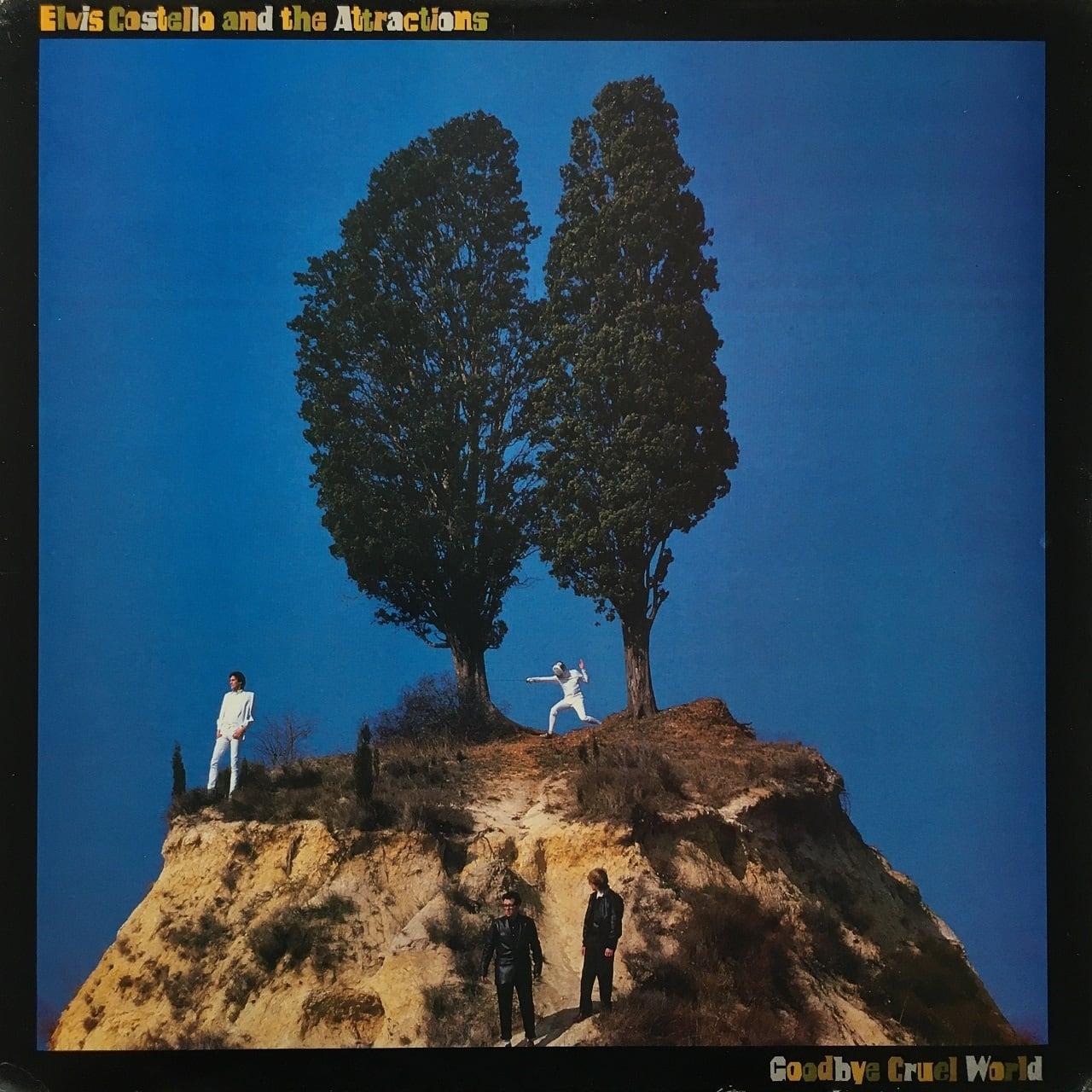 【LP・米盤】Elvis Costello & the Attractions / Goodbye Cruel World