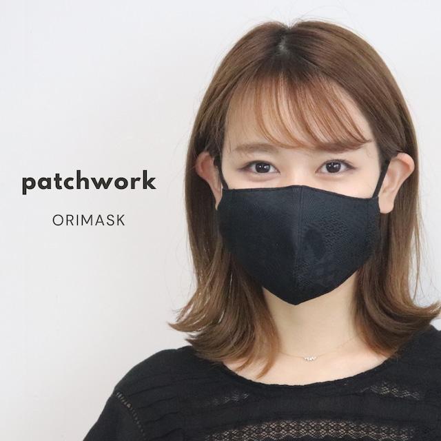 ORIMASK  パッチワーク柄