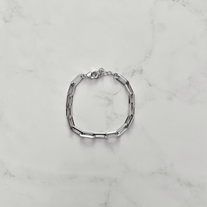 【SV5-3】silver chain bracelet