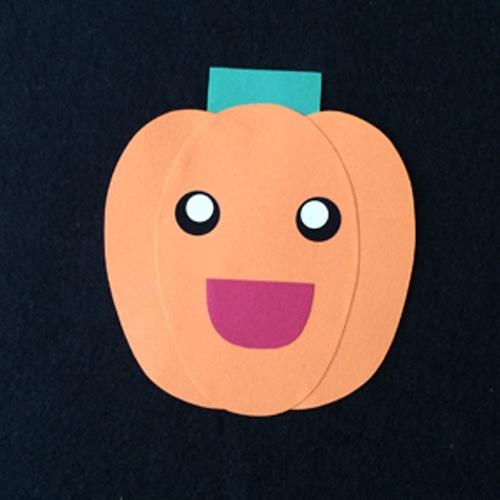 ピーマン(オレンジ)の壁面装飾