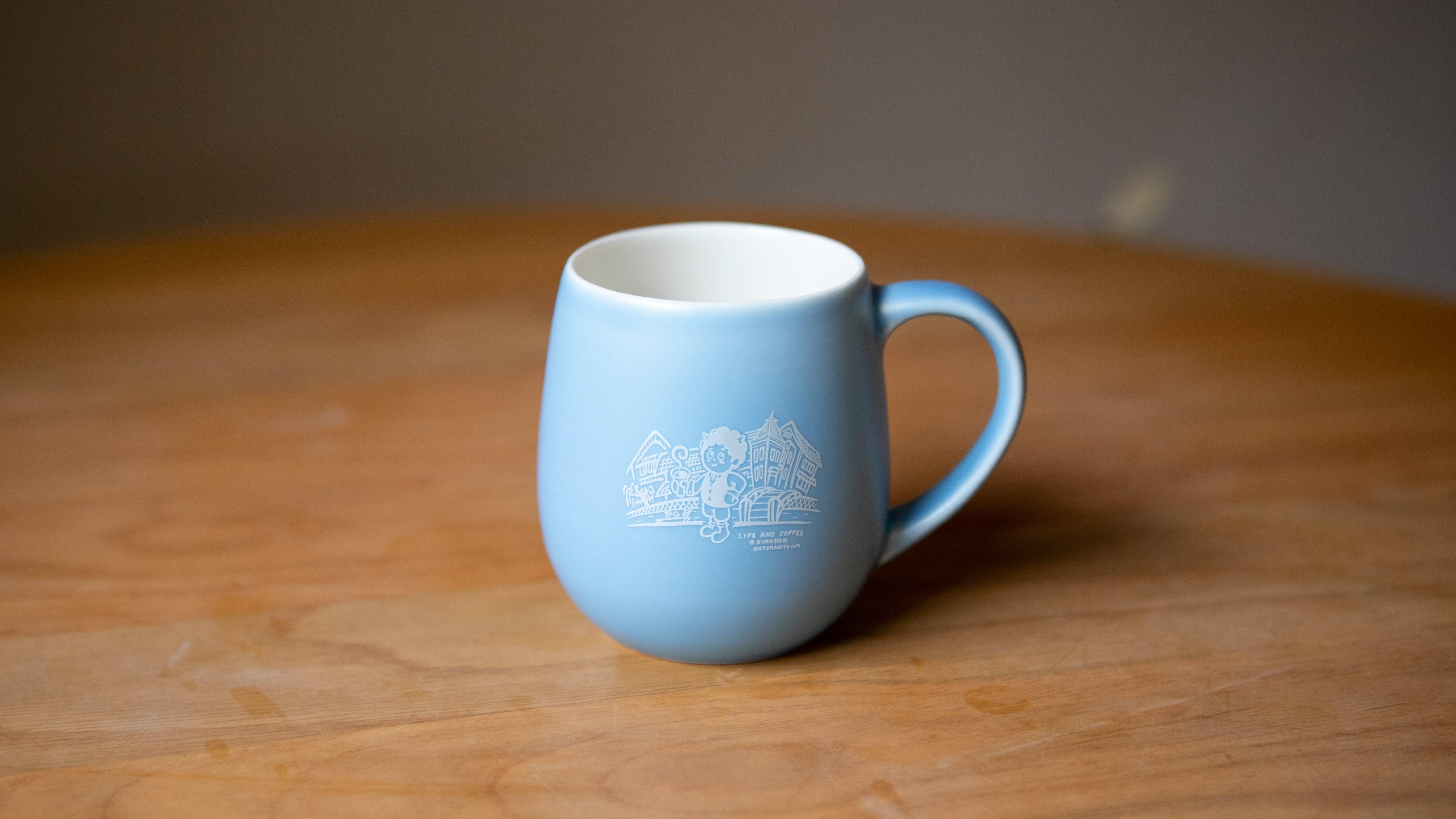 鬼ちゃんのマグカップ【マットブルー】※10/1(金)19時30分頃より販売開始となります。