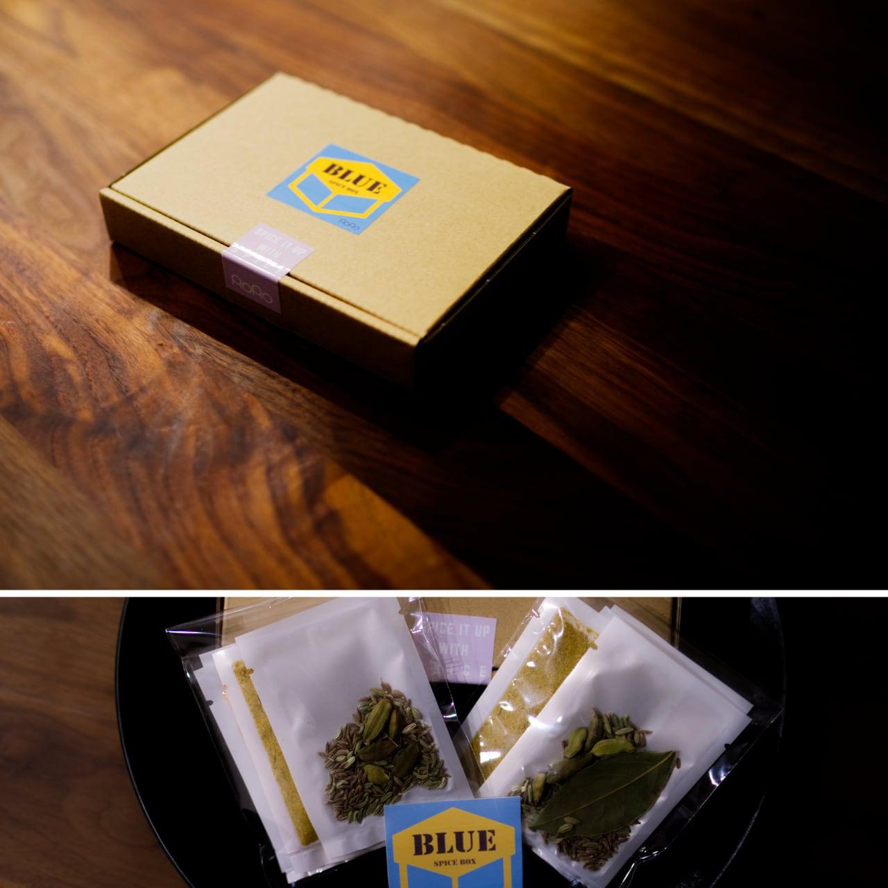 SPICE BOX ~BLUE~