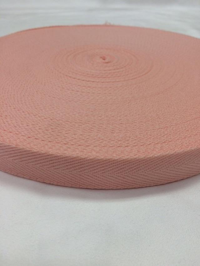 アクリル 杉綾織(綾テープ) 20mm幅 全カラー 1巻(50m)
