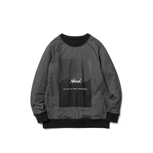 Nanga RecoverYarn Sweat Shirt スウェットシャツクルーネック