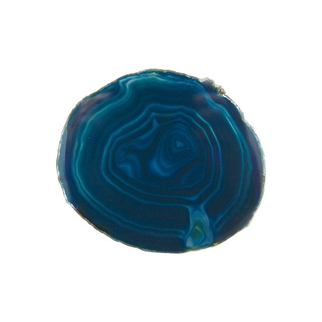 amabro (アマブロ) CRYSTAL COASTER (コースター) 【ピーコックブルー】
