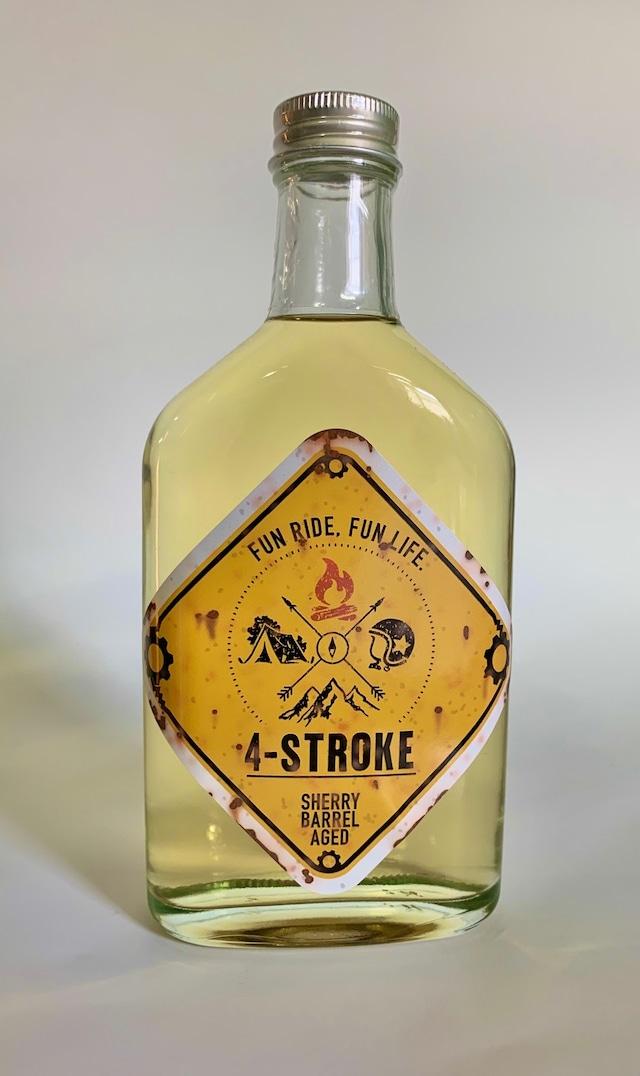 粕取り焼酎 4 STROKE YELLOW シェリー樽貯蔵