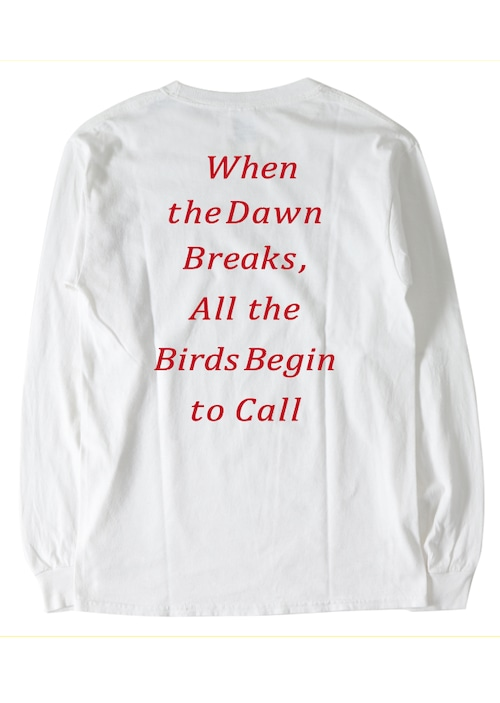 長袖 Tシャツ 七咲友梨写真集『朝になれば鳥たちが騒ぎだすだろう』