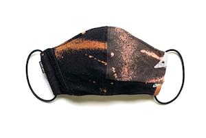 【デザイナーズマスク 吸水速乾COOLMAX使用 日本製】BAND T-SHIRTS MASK CTMR 0910191