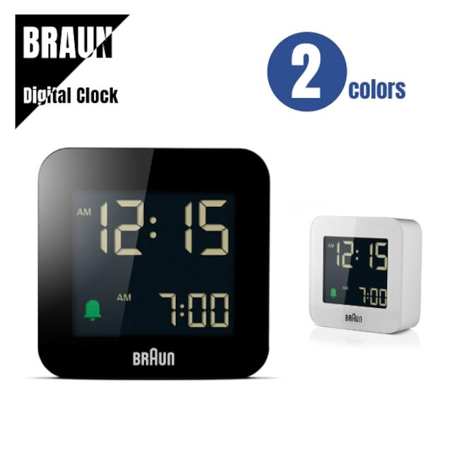 【即納】BRAUN ブラウン DIGITAL CLOCK デジタルクロック BC08 置き時計★2カラー 送料無料