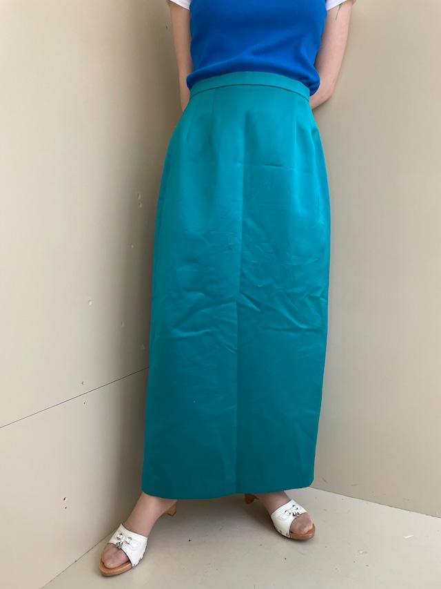 polyester skirt / 7SSSK31-04