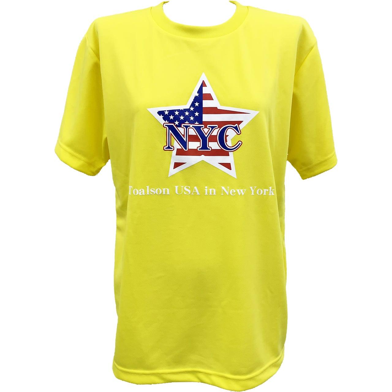 NYCTシャツ(イエロー)【1ET1911】