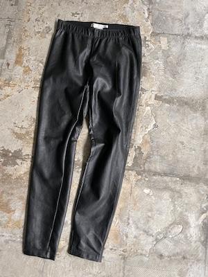 """''MAX STUDIO"""" vintage leather pants"""