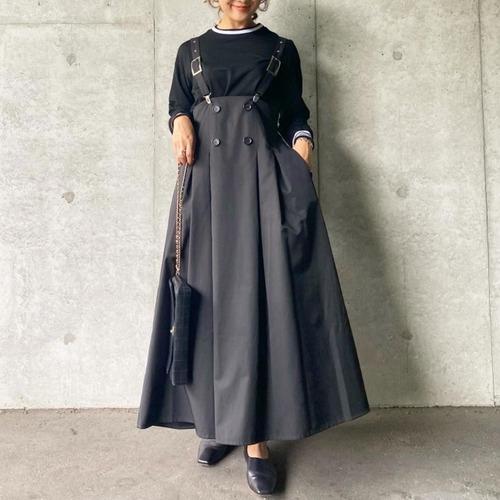 サスペンダージャンパースカート(ブラック)