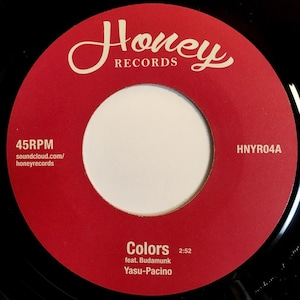 Colors EP(Budamunk,Yasu-Pacino,Keisaku Nakamura,Yotaro)(7inch vinyl)