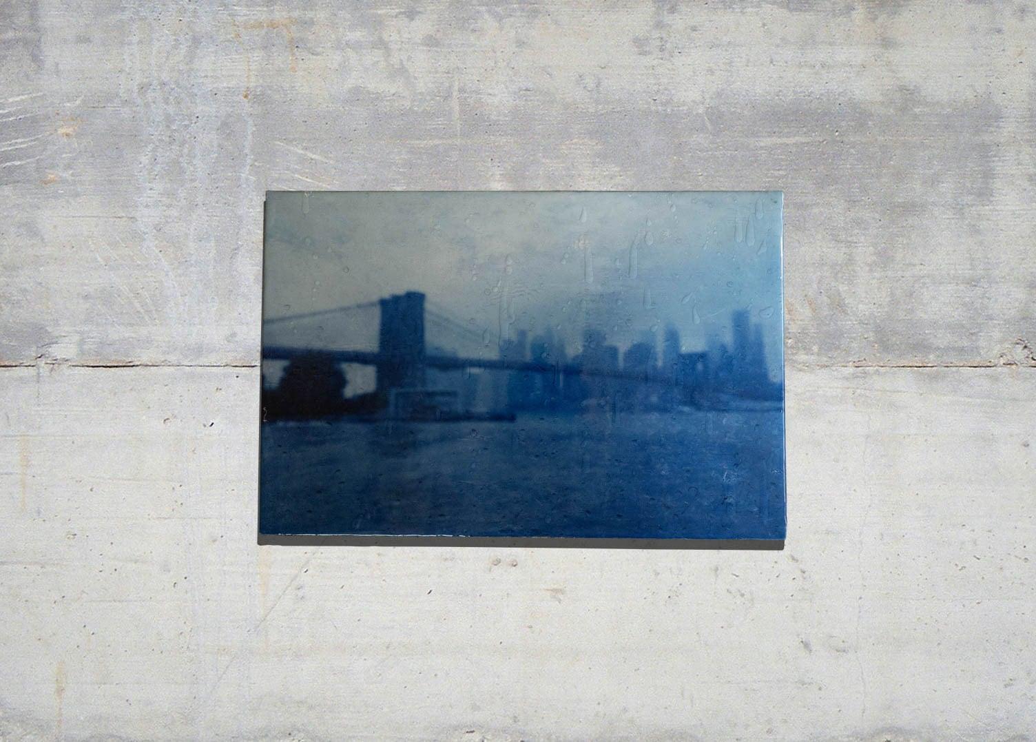 The Rain, New York, Brooklyn Bridge