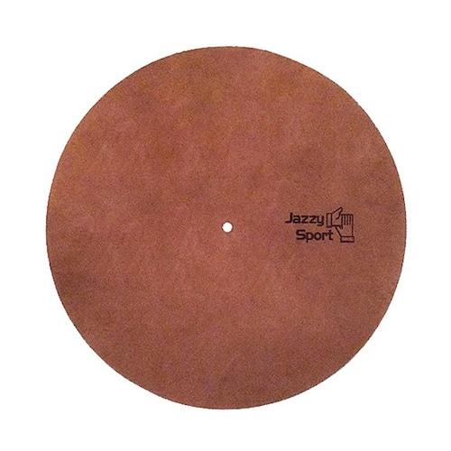 JS 12インチレザースリップマット/ブラウン