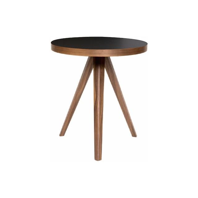アイシー リビングテーブル ウォールナット 樹脂天板 S-hight