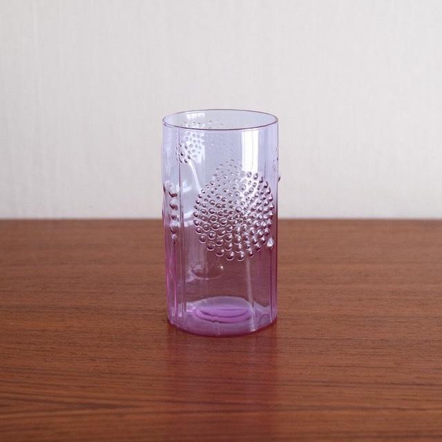 Nuutajarvi ヌータヤルヴィ / Flora フローラ グラス アメジスト 12cm