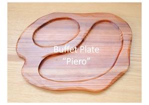 """KUKU BUFFET PLATE """"Piero"""" -ビュッフェプレート-"""