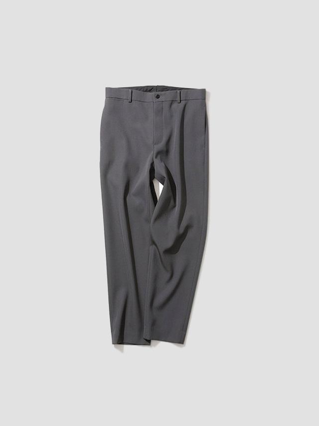 ATON BACK SATIN STANDARD PANTS Grey PRAGBW0001