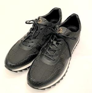 Monogram Sneaker Black