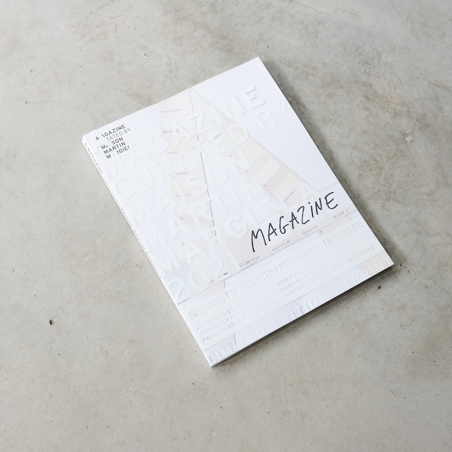 A MAGAZINE CURATED BY MAISON MARTIN MARGIELA - LIMITED EDITION REPRINT, 2021