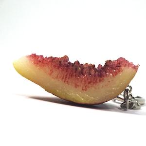 いちじく 食品サンプル キーホルダー ストラップ